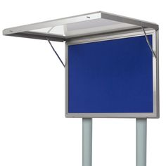 Post Mounted Nimbus Notice Boards - 30 Year Guarantee - Noticeboards Online - Buy Notice Boards And Whiteboards Online