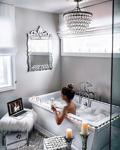 Modern Farmhouse, Rustic Modern, Classic, light and airy master bathroom design a few ideas. Bathroom makeover tips and master bathroom renovation some ideas. Diy Bathroom Inspiration, Bathroom Ideas, Bathroom Organization, Bathroom Makeovers, Remodel Bathroom, Bathroom Designs, Bathroom Renovations, Bathroom Images, Bath Ideas
