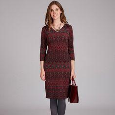 Laura Ashley Mirror Print Dress #lauraashleystyle