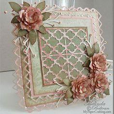 Shabby Roses Card