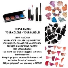 Younique March 2018 Customer Kudos  Triple Sizzle