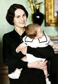 Lady Mary and baby George.   ..rh