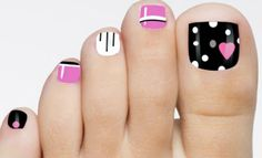 Resultado de imagen para uñas de pies