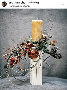 Presents: Christmas is coming Christmas or the Christ festival, the Festival of lights, the Feast of peace, or the Chris. Christmas Floral Designs, Christmas Floral Arrangements, Christmas Flowers, Christmas Door, Christmas Design, Rustic Christmas, Handmade Christmas, Christmas Time, Christmas Wreaths