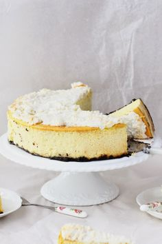 coconut and mango cheesecake