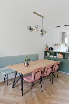 Modern Scandinavian Interior, Home Design, Sweet Home Alabama, Dining Room Inspiration, Dining Room Design, Living Room Interior, Home Kitchens, Kitchen Decor, Decoration