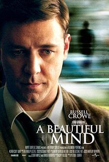 A Beautiful Mind is a biographical drama movie that was released in 2001 and directed by Ron Howard. It stars Russell Crowe, Ed Harris and Jennifer Connelly. The film is based on the life of John Nash, a Nobel Laureate awardee in the field of Economi. See Movie, Movie List, Movie Tv, Epic Movie, Movie Photo, Films Cinema, Cinema Tv, Jennifer Connelly, Movies Showing