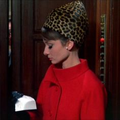 Audrey Hepburn in Givenchy - 'Charade', 1963.