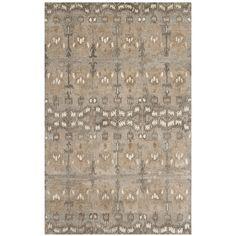 Safavieh Jenna wyd721 a-6 Rug Wool Natural Multi/182 x 274 Cm: Amazon.co.uk: Kitchen & Home