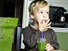 kids and green smoothies