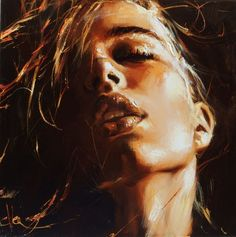 Obecnie na aukcjach Ewa Switala - In A Dream Arte Fashion, L'art Du Portrait, Hyper Realistic Paintings, Face Art, Erotic Art, Figurative Art, Painting Inspiration, Art Images, Art Girl