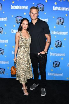 Vikings' Alexander Ludwig thanks co-star girlfriend Kristy Dawn Dinsmore for sticking by him 'through it all'. Alexander Ludwig Girlfriend, Vikings Season, Congratulations Baby, Actors Male, Time Pictures, I Love You Forever, San Diego Comic Con, On Set, Hard Rock