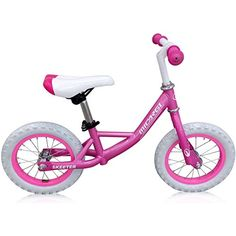 c5e687c43b0 Skeeter Pink 12 kids balance bike ** Click image to review more details. (