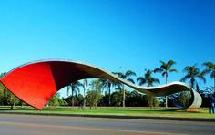 Tomie Ohtake, 1999, Parque Industrial da Companhia Brasileira de Metalurgia e Mineração, Araxá-MG