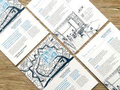 • EINDRESULTAAT • De #tekeningen voor #degoudenbock verwerkt in een nieuwe #flyer voor hun #restaurant.