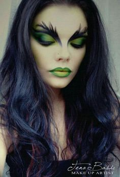 Halloween Makeup Up Look ღ