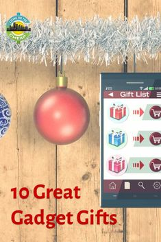 This list of gifts would make perfect stocking stuffers or gifts for guys and girls who love gadgets. The best part is that they are all affordable, with most less than $35, and you can get free shipping if your order total is over a certain amount. Cheap Gifts, Unique Gifts, Best Gifts, Holiday Gift Guide, Holiday Gifts, Budget Holidays, Gadget Gifts, Best Birthday Gifts, Perfect Gift For Her