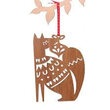 wooden laser cut christmas decorations - Google Search