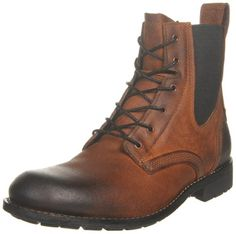 7cc2f3b8cdffdc Timberland Men's Earthkeepers City Chelsea Lace-Up Boot,Red Brown,7 M US