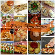 Lots of appetizer ideas!