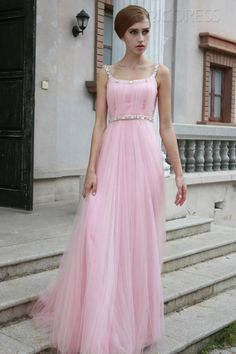 Sexy A-Line Bateau Neckline Floor-Length Zipper-up Evening/Prom Dress 1