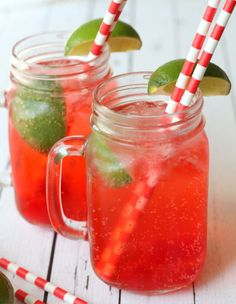 Cool off with a homemade Cherry Limeade.