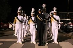 Phantom Regiment w/fantastic drum major David Warren.