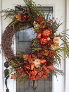 Fall wreath-by: Ladonna Couvillion