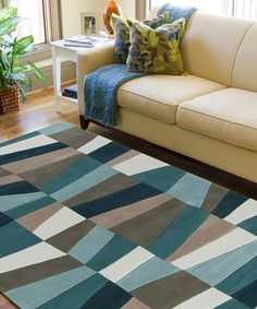 LOVE!!! Take a look at this Oregano Cosmopolitan Rug by Surya on #zulily today!