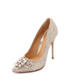 eliss embellished pump