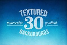 30 Watercolor Backgrounds - PSD File by Kimmy Design on @creativemarket