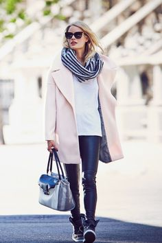 Calvin Klein Pink Notch Collar Coat - Google Search