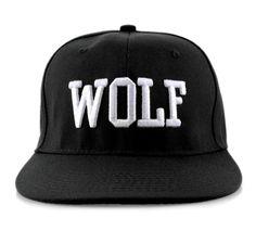 Exo Kpop Style Black Wolf Snapback Caps Baseball Hiphop Korean Hats 7ab9970b3307