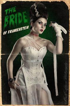 bride of frankenstein - costume idea for 2013 :)