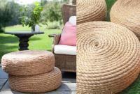 Cheap garden furniture: ideas, photos and DIY tips Balcony Furniture, Diy Garden Furniture, Cheap Furniture, Outdoor Furniture, Outdoor Decor, Furniture Ideas, Patio Diy, Palette Diy, Diy Terrasse