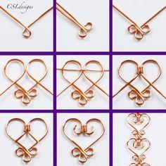 Diy Jewelry Tutorials Necklace Jewellery 44 Ideas For 2019 Wire Jewelry Designs, Handmade Wire Jewelry, Jewelry Patterns, Copper Jewelry, Recycled Jewelry, Jewelry Trends, Celtic Wire Jewelry, Copper Wire Art, Moonstone Jewelry