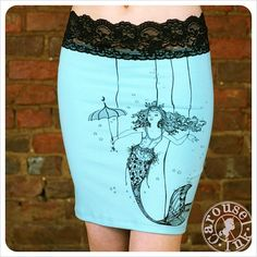 Mermaid Pencil Skirt