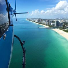 Good Morning Miami. Have a great #Saturday. Let's Fly!  by @southbeachhelicopters. Tag someone to share this with!