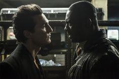 Matthew McConaughey and Idris Elba in The Dark Tower (2017)