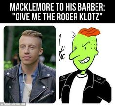I don't know who Macklemore is, but this is funny :)