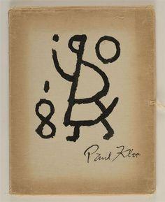 Paul Klee, SET OF 12; TWELVE AQUARELLES COMMENTEES PAR FELIX KLEE - #art