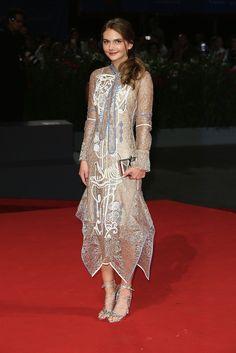 Emilia Jones, Venice Film Festival 2016