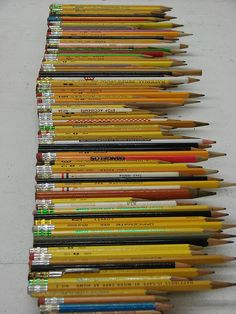 Vintage Pencil Collection.