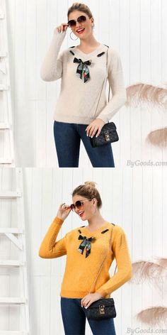 Cheap Fashion Knit V-neck Bow Pure Color Fluff Slim Bottoming Long-sleeve Cardigan Women Sweater For Big Sale!Fashion Knit V-neck Bow Pure Color Fluff Slim Bottoming Long-sleeve Cardigan Women Sweater Fall Sweaters, Cute Sweaters, Girls Sweaters, Cardigans For Women, Knit Fashion, Sweater Fashion, Sweater Cardigan, Bow, Slim
