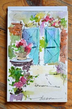 A Taste of Watercolor in France
