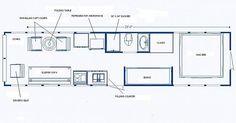bus conversion floor plans - Google Search