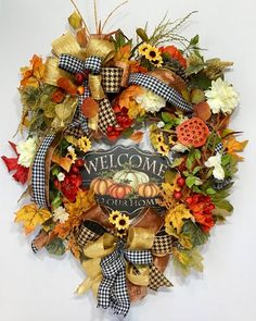 Items similar to Fall Oval Grapevine Wreath For Front Door, Autumn Fall Grapevine Welcome Wreath, Thanksgiving Harvest Decor Wreath Wood Sign, Large Wreath on Etsy – Grapevine Wreath İdeas. Wreath Crafts, Diy Wreath, Grapevine Wreath, Wreath Ideas, Wood Wreath, Fall Mesh Wreaths, Wreaths For Front Door, Autumn Wreaths, Fall Deco Mesh
