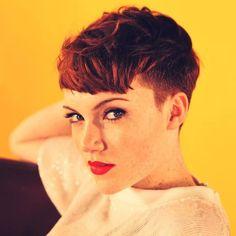 ginger hair, undercut | Ginger hair styles | Pinterest