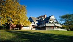 Sagamore Hill Visiting the Beloved Home of Theodore Roosevelt  | Difficult to decide it this belongs with rich and famous or historic homes. It's all about history so...