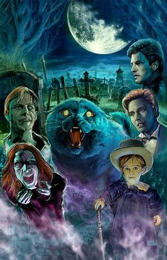 Monsterman Graphic 3 Sizes Pet Sematary Art Poster Print Scary Graveyard cat Horror Movies Stephen King by Artist Scott Jackson x 17 inches) Horror Icons, Horror Movie Posters, Movie Poster Art, 17 Kpop, Stephen King Movies, Pet Cemetery, Horror Themes, Horror Artwork, Classic Horror Movies